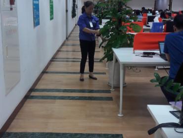 Dịch vụ vệ sinh Tòa nhà văn phòng