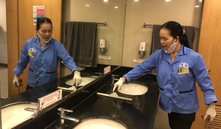 Dịch vụ tổng vệ sinh theo mọi yêu cầu